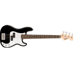 Squier 0370127506 Mini Precision Bass, Laurel Fingerboard, Black