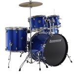 Ludwig LC1759 Accent Drive 5pc complete set Blue