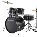 Ludwig LC1751 Accent Drive 5pc Complete Black