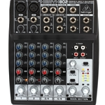 802 Behringer Xenyx 8 Channel Mixer