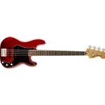 0306800509 Squier VM P Bass Candy Apple Red