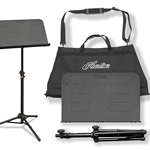 KB90 Hamilton Traveler Music Stand w/bag