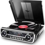 ION iT69BK Mustang 4 in 1 Turntable