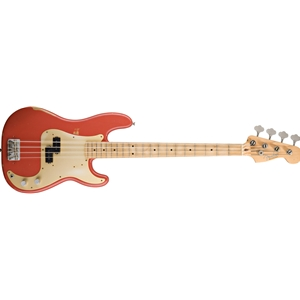 Fender Road Worn P Bass Fiesta Red