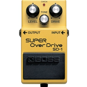 BSD1 Boss SD1 Super Overdrive
