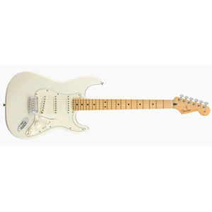 0144502515 Fender Player Stratocaster Polar White MN